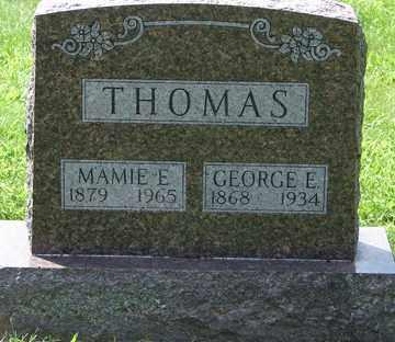 THOMAS, MAMIE E. - Minnehaha County, South Dakota   MAMIE E. THOMAS - South Dakota Gravestone Photos