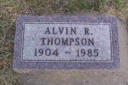 THOMPSON, ALVIN R. - Minnehaha County, South Dakota | ALVIN R. THOMPSON - South Dakota Gravestone Photos