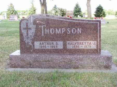 THOMPSON, HALVORETTA J. - Minnehaha County, South Dakota | HALVORETTA J. THOMPSON - South Dakota Gravestone Photos
