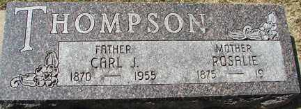 THOMPSON, ROSALIE - Minnehaha County, South Dakota | ROSALIE THOMPSON - South Dakota Gravestone Photos