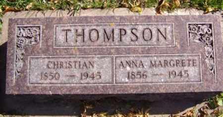THOMPSON, CHRISTIAN - Minnehaha County, South Dakota | CHRISTIAN THOMPSON - South Dakota Gravestone Photos