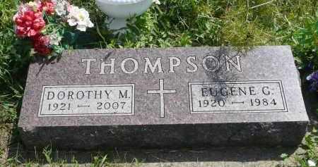 THOMPSON, EUGENE G. - Minnehaha County, South Dakota | EUGENE G. THOMPSON - South Dakota Gravestone Photos