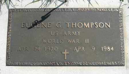 THOMPSON, EUGENE G. (WWII) - Minnehaha County, South Dakota | EUGENE G. (WWII) THOMPSON - South Dakota Gravestone Photos