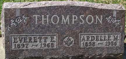 THOMPSON, ARDELLE M. - Minnehaha County, South Dakota   ARDELLE M. THOMPSON - South Dakota Gravestone Photos