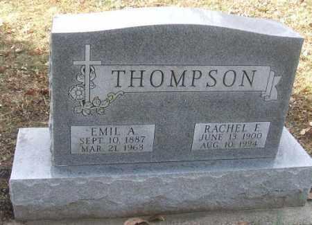 THOMPSON, RACHEL E. - Minnehaha County, South Dakota   RACHEL E. THOMPSON - South Dakota Gravestone Photos