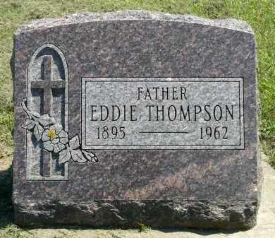 THOMPSON, EDDIE - Minnehaha County, South Dakota   EDDIE THOMPSON - South Dakota Gravestone Photos