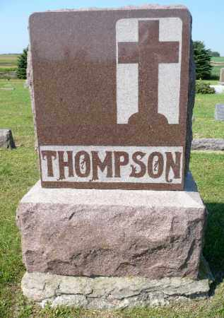 THOMPSON, FAMILY MARKER - Minnehaha County, South Dakota | FAMILY MARKER THOMPSON - South Dakota Gravestone Photos