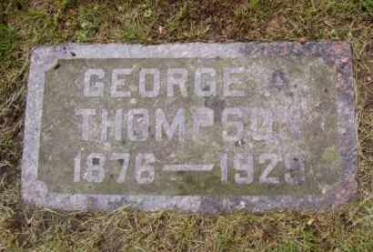 THOMPSON, GEORGE A. - Minnehaha County, South Dakota | GEORGE A. THOMPSON - South Dakota Gravestone Photos