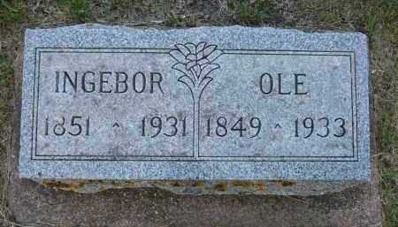 OIEN THOMPSON, INGEBORG OLSON - Minnehaha County, South Dakota | INGEBORG OLSON OIEN THOMPSON - South Dakota Gravestone Photos