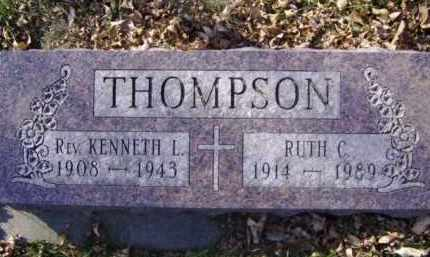 THOMPSON, RUTH C. - Minnehaha County, South Dakota | RUTH C. THOMPSON - South Dakota Gravestone Photos