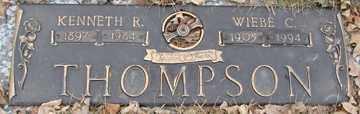 THOMPSON, WIEBE C. - Minnehaha County, South Dakota   WIEBE C. THOMPSON - South Dakota Gravestone Photos