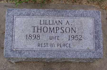 THOMPSON, LILLIAN A. - Minnehaha County, South Dakota | LILLIAN A. THOMPSON - South Dakota Gravestone Photos
