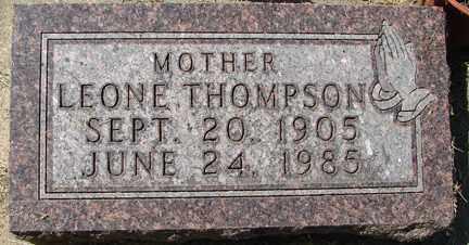 THOMPSON, LEONE - Minnehaha County, South Dakota | LEONE THOMPSON - South Dakota Gravestone Photos