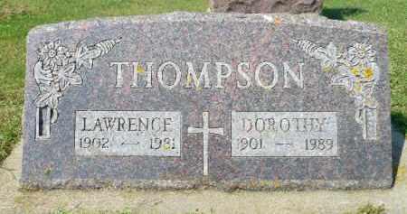 THOMPSON, DOROTHY - Minnehaha County, South Dakota   DOROTHY THOMPSON - South Dakota Gravestone Photos