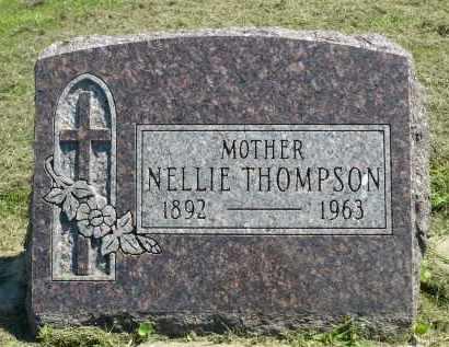 THOMPSON, NELLIE - Minnehaha County, South Dakota   NELLIE THOMPSON - South Dakota Gravestone Photos