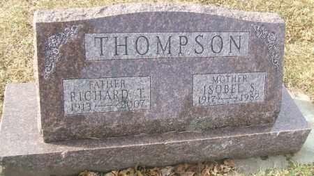 THOMPSON, RICHARD T. - Minnehaha County, South Dakota   RICHARD T. THOMPSON - South Dakota Gravestone Photos