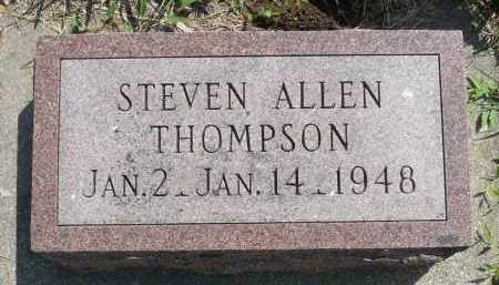 THOMPSON, STEVEN ALLEN - Minnehaha County, South Dakota   STEVEN ALLEN THOMPSON - South Dakota Gravestone Photos