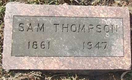 THOMPSON, SAM - Minnehaha County, South Dakota | SAM THOMPSON - South Dakota Gravestone Photos