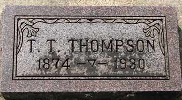 THOMPSON, THORSTEN T. - Minnehaha County, South Dakota   THORSTEN T. THOMPSON - South Dakota Gravestone Photos