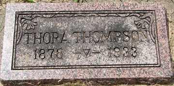 THOMPSON, THORA - Minnehaha County, South Dakota | THORA THOMPSON - South Dakota Gravestone Photos