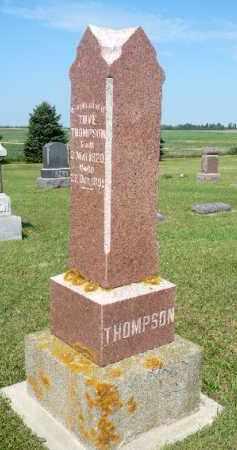 THOMPSON, TOVE - Minnehaha County, South Dakota   TOVE THOMPSON - South Dakota Gravestone Photos