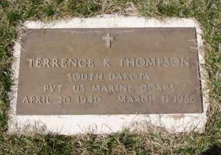 THOMPSON, TERRENCE K. - Minnehaha County, South Dakota | TERRENCE K. THOMPSON - South Dakota Gravestone Photos
