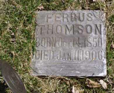 THOMSON, FERGUS - Minnehaha County, South Dakota | FERGUS THOMSON - South Dakota Gravestone Photos