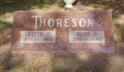 SOLBAK THORESON, ALMA O. - Minnehaha County, South Dakota | ALMA O. SOLBAK THORESON - South Dakota Gravestone Photos
