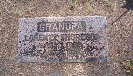 THORESON, LORENTZ KLEVEN - Minnehaha County, South Dakota   LORENTZ KLEVEN THORESON - South Dakota Gravestone Photos