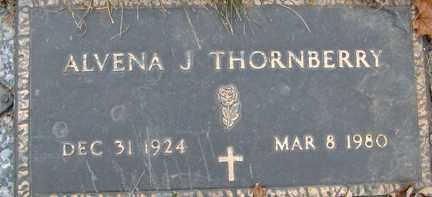 THORNBERRY, ALVENA J. - Minnehaha County, South Dakota | ALVENA J. THORNBERRY - South Dakota Gravestone Photos