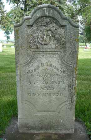 THORNE, JOHN O. - Minnehaha County, South Dakota   JOHN O. THORNE - South Dakota Gravestone Photos