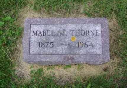 THORNE, MABEL M. - Minnehaha County, South Dakota | MABEL M. THORNE - South Dakota Gravestone Photos