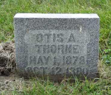 THORNE, OTIS A. - Minnehaha County, South Dakota | OTIS A. THORNE - South Dakota Gravestone Photos