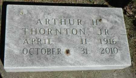 THORNTON, ARTHUR H., JR. - Minnehaha County, South Dakota | ARTHUR H., JR. THORNTON - South Dakota Gravestone Photos