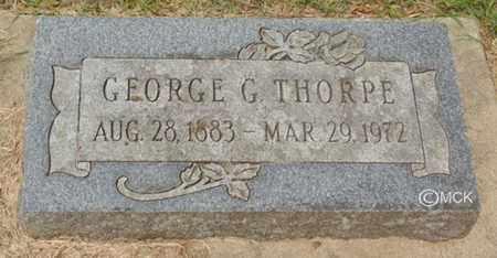 THORPE, GEORGE G. - Minnehaha County, South Dakota | GEORGE G. THORPE - South Dakota Gravestone Photos