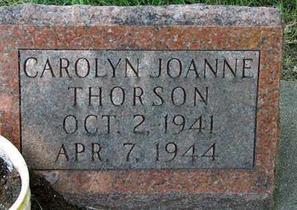 THORSON, CAROLYN JOANNE - Minnehaha County, South Dakota | CAROLYN JOANNE THORSON - South Dakota Gravestone Photos