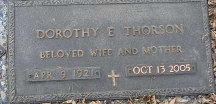 THORSON, DOROTHY E. - Minnehaha County, South Dakota | DOROTHY E. THORSON - South Dakota Gravestone Photos