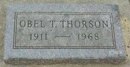 THORSON, OBEL T. - Minnehaha County, South Dakota   OBEL T. THORSON - South Dakota Gravestone Photos