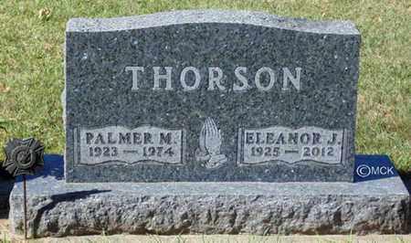 THORSON, PALMER M. - Minnehaha County, South Dakota | PALMER M. THORSON - South Dakota Gravestone Photos