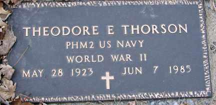 THORSON, THEODORE E. (WWII) - Minnehaha County, South Dakota   THEODORE E. (WWII) THORSON - South Dakota Gravestone Photos