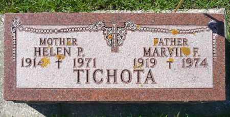 TICHOTA, MARVIN F. - Minnehaha County, South Dakota | MARVIN F. TICHOTA - South Dakota Gravestone Photos