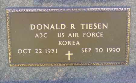 TIESEN, DONALD R. - Minnehaha County, South Dakota | DONALD R. TIESEN - South Dakota Gravestone Photos