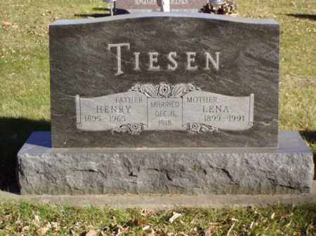 TIESEN, LENA - Minnehaha County, South Dakota | LENA TIESEN - South Dakota Gravestone Photos