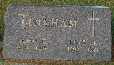TINKHAM, LUCY H. - Minnehaha County, South Dakota | LUCY H. TINKHAM - South Dakota Gravestone Photos