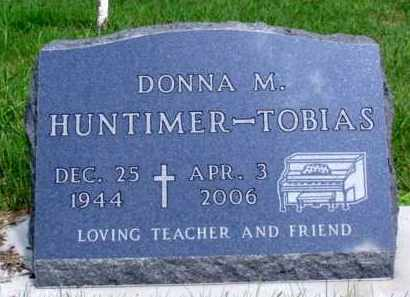 HUNTIMER TOBIAS, DONNA MARIE - Minnehaha County, South Dakota | DONNA MARIE HUNTIMER TOBIAS - South Dakota Gravestone Photos
