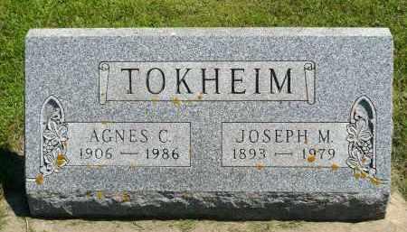 TOKHEIM, AGNES C. - Minnehaha County, South Dakota | AGNES C. TOKHEIM - South Dakota Gravestone Photos