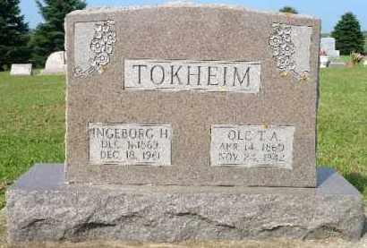 TOKHEIM, INGEBORG H. - Minnehaha County, South Dakota | INGEBORG H. TOKHEIM - South Dakota Gravestone Photos