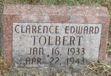 TOLBERT, CLARENCE EDWARD - Minnehaha County, South Dakota | CLARENCE EDWARD TOLBERT - South Dakota Gravestone Photos
