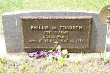 TONSETH, PHILLIP M. - Minnehaha County, South Dakota | PHILLIP M. TONSETH - South Dakota Gravestone Photos