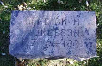 TORGESON, BENDICK H. - Minnehaha County, South Dakota | BENDICK H. TORGESON - South Dakota Gravestone Photos
